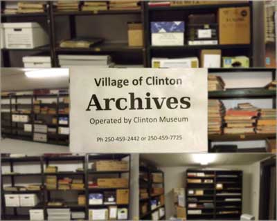 Village of Clinton Archives