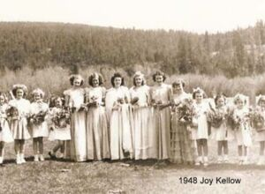 1948 May Queen Joy Kellow +Attendants 24.jpg